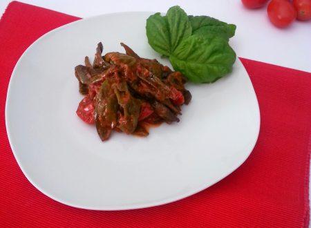 Friggitelli ai pomodorini, ricetta facile e veloce