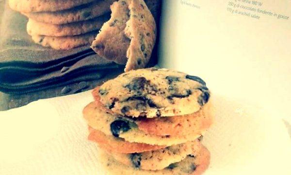 American chocolate & peanuts cookies, ricetta Montersino