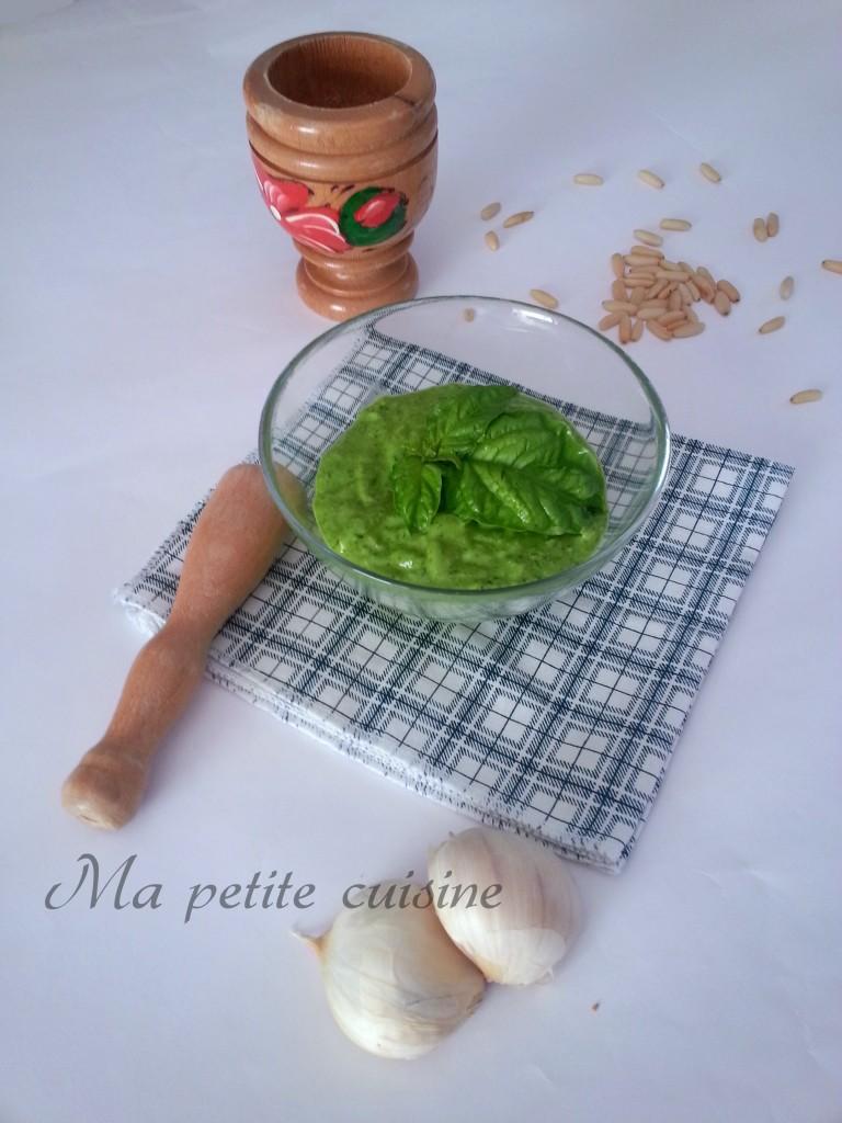 Pesto di basilico ricetta facile ma petite cuisine for Ma cuisine petit chef