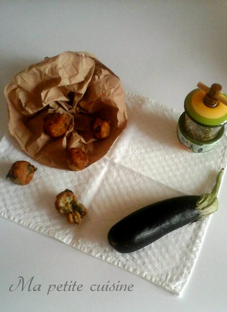 Polpette di melanzane ricetta tradizionale ma petite cuisine - Ma petite cuisine by audrey ...