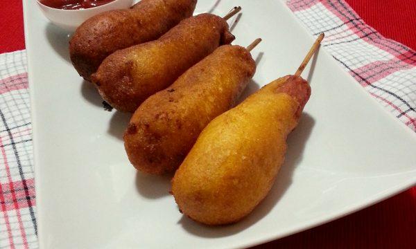 Corn dogs, ricetta