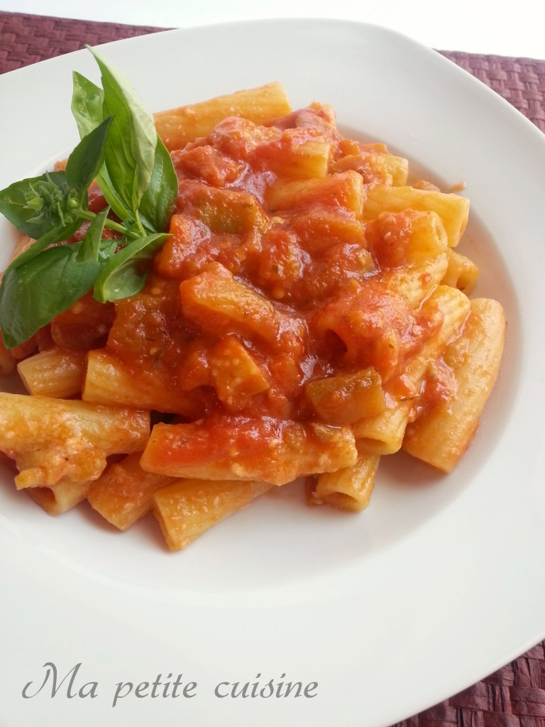 Rigatoni alla siciliana