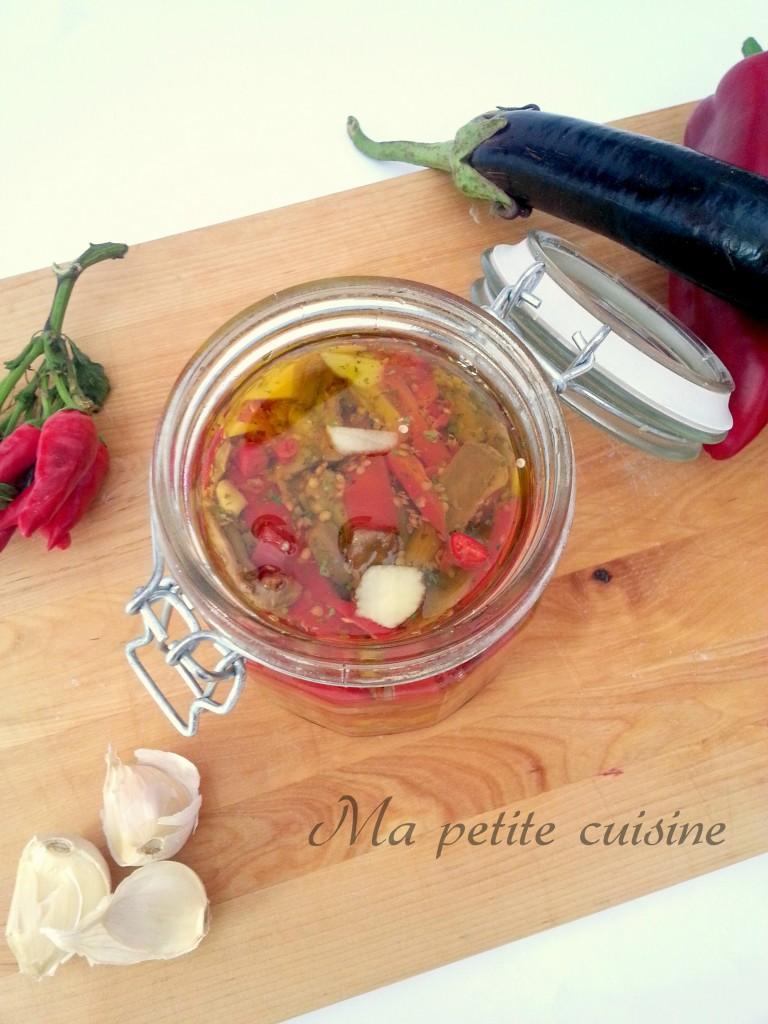 Melanzane e peperoni sott 39 olio ma petite cuisine - Ma petite cuisine by audrey ...