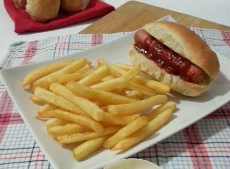 American hot dog, ricetta panini