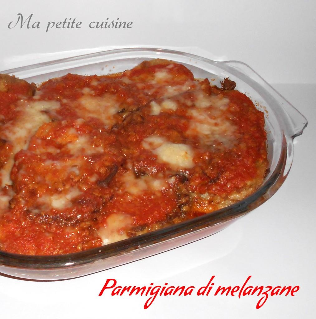 Parmigiana di melanzane senza mozzarella