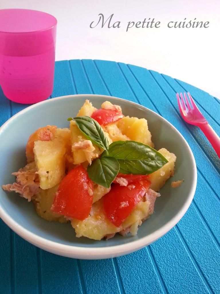 Insalata di patate tonno e pomodori ma petite cuisine - Ma p tite cuisine ...