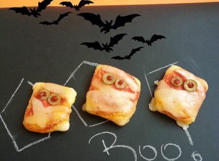 Pizzette mostruose Halloween