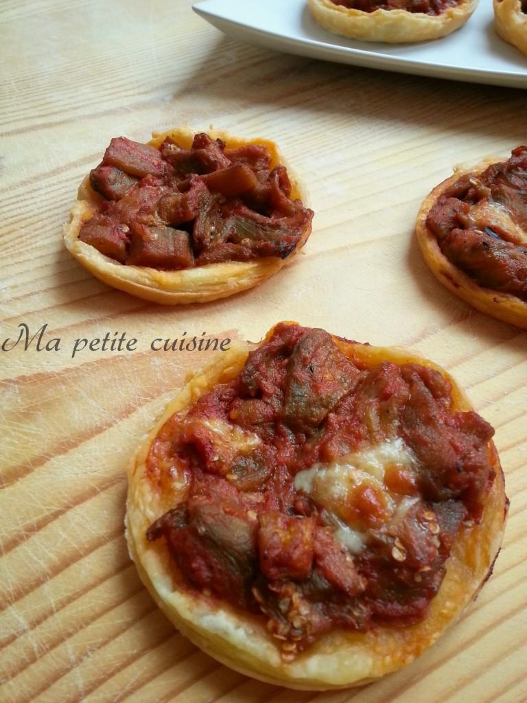 Tartellette alle melanzane antipasto sfizioso ma petite cuisine - Ma petite cuisine by audrey ...