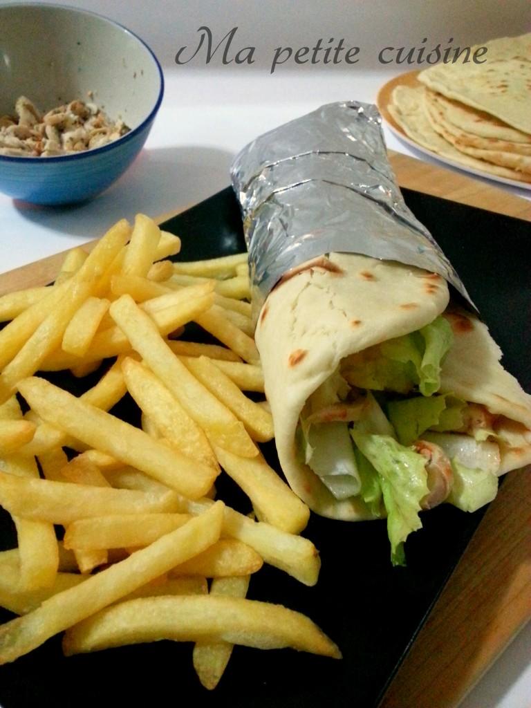 Piadina con kebab fatto in casa