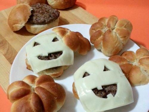 Hamburger paurosi di Halloween