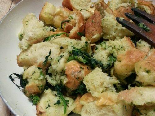 Pane fritto con broccoli video ricetta
