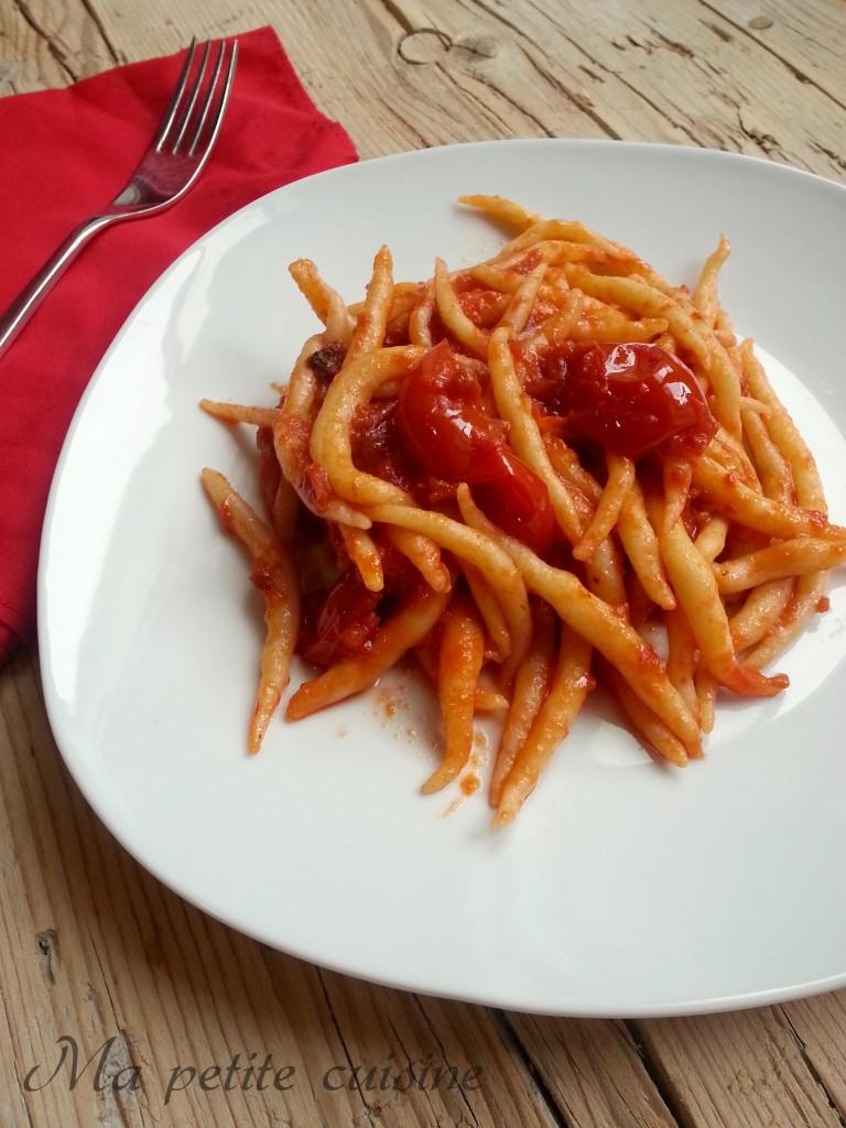 Trofie al paté di pomodoro secco