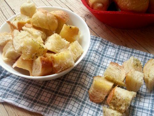 Crostini di pane Video ricetta