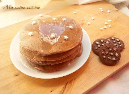 Pan di stelle pancakes ricetta dolce