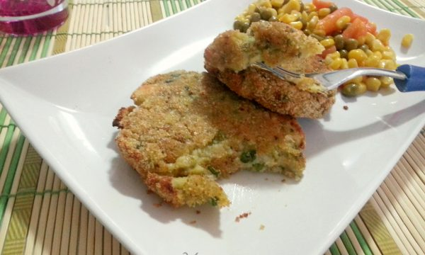 Burger di zucchine ricetta vegetariana