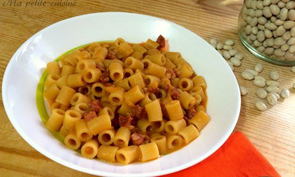 Pasta e fagioli con salsiccia video ricetta