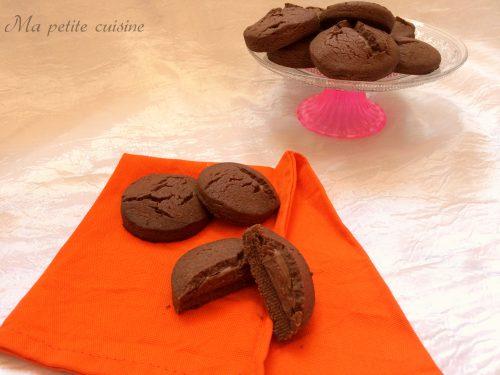 Biscotti al cacao e nutella simil grisbi