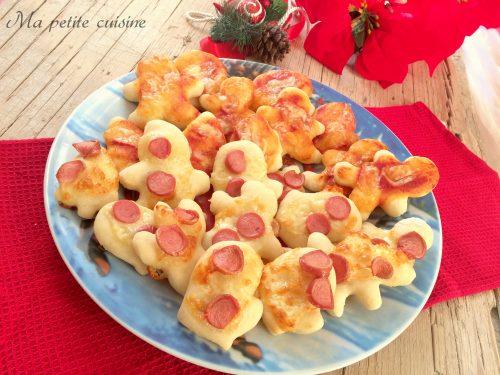 Pizzette soffici di Natale video ricetta