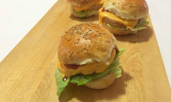Burger buns panini per hamburger