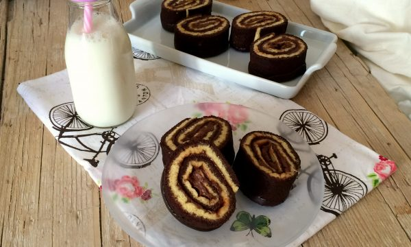 Girelle al cioccolato video ricetta