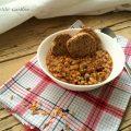 Zuppa di legumi e cereali