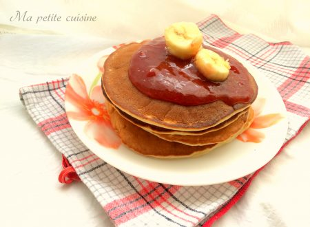 Pancakes senza uova alle banane ricetta light