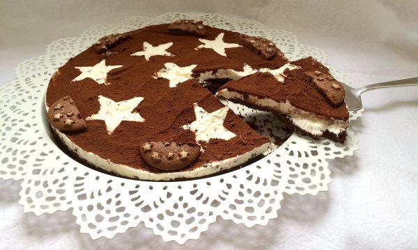 Torta Pan di Stelle con gocce di cioccolato