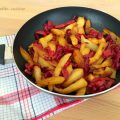 Peperoni e patate contorno sfizioso