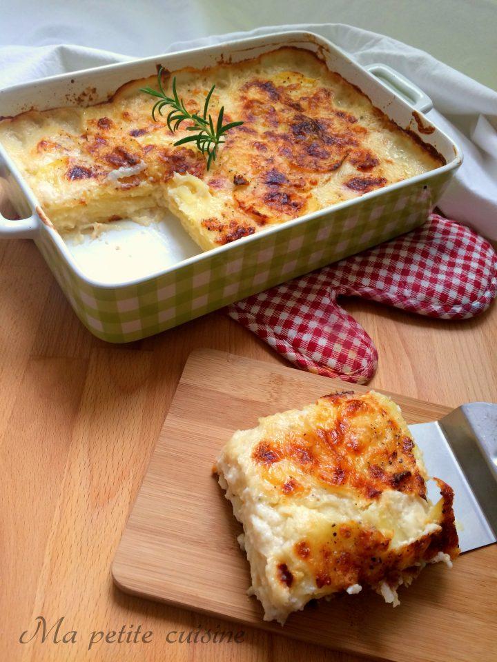 Parmigiana di patate cremosa