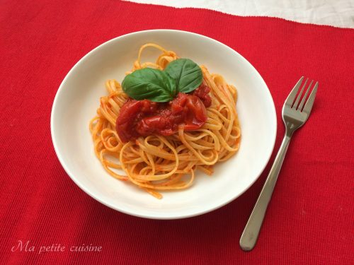 Linguine ai pomodorini video ricetta veloce