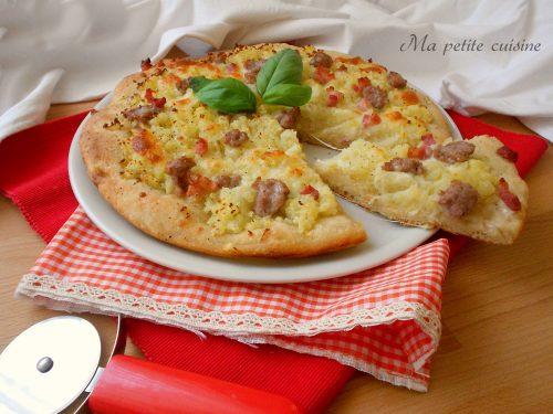 Pizza con lievito naturale video ricetta