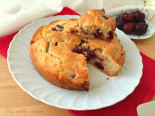 Torta alle ciliegie – cherry cake video ricetta