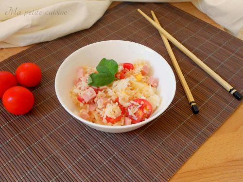 Insalata di riso basmati ricetta fresca