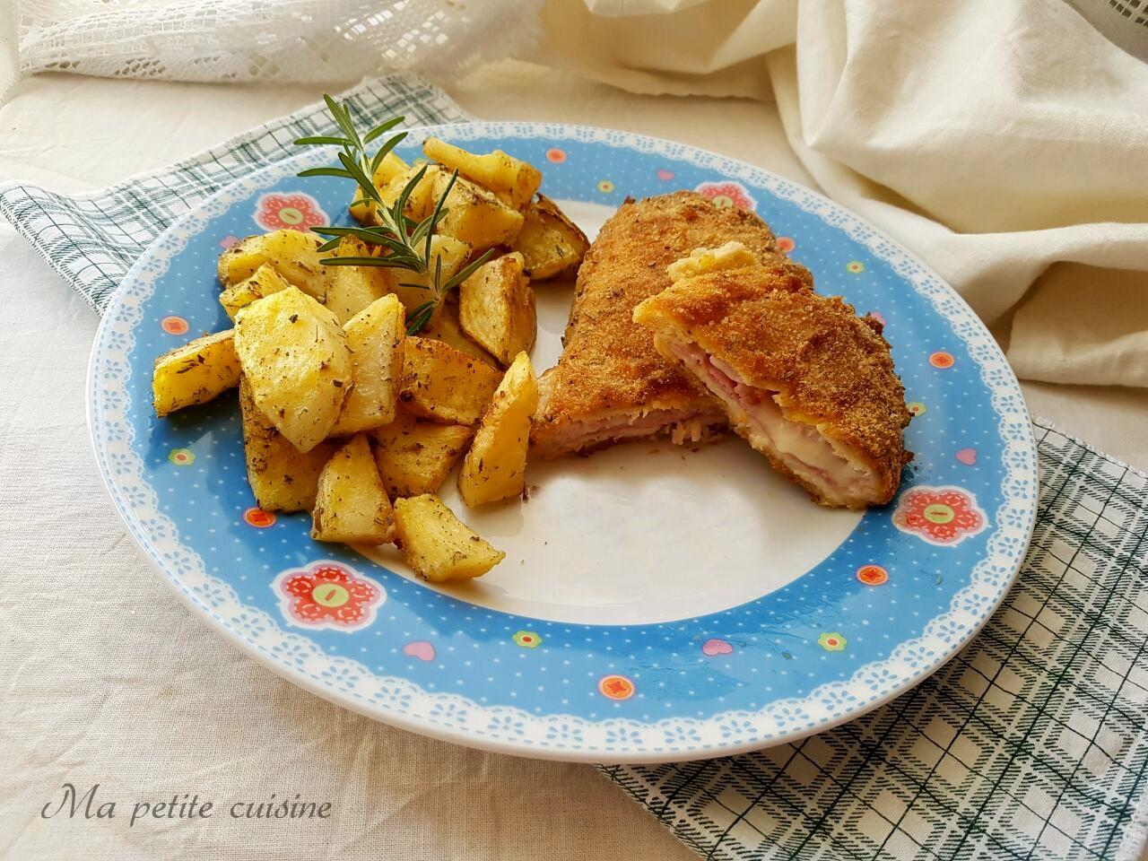 cordon bleu di pollo video ricetta ma petite cuisine. Black Bedroom Furniture Sets. Home Design Ideas