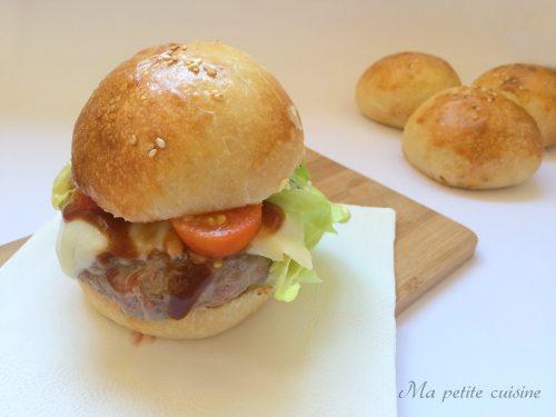 Cheesburger con lievito naturale