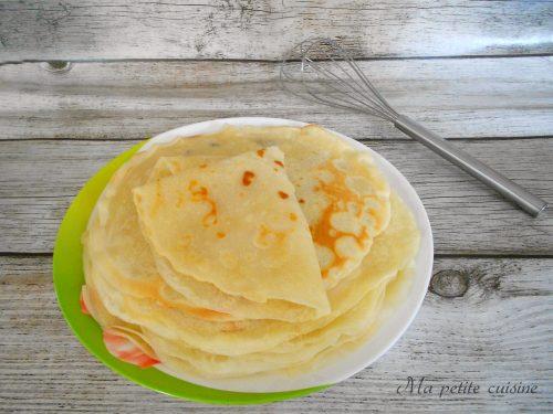 Crepes senza uova ricetta leggera