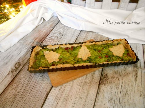 Crostata salata integrale ai broccoletti