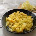 Verza con patate