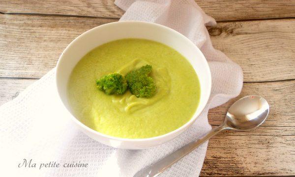 Vellutata ai broccoli con Bimby tm5