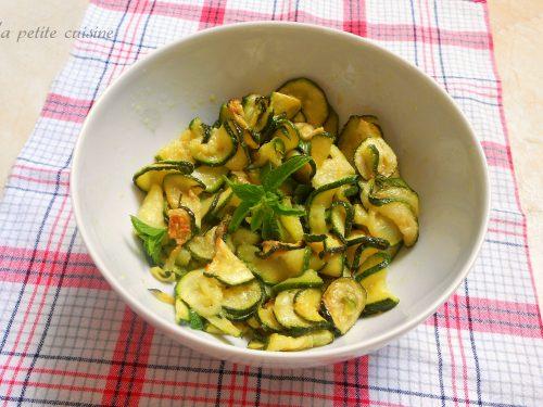 Zucchine alla scapece ricetta napoletana