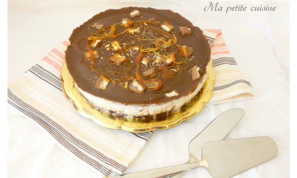 Twix cheescake con caramello video ricetta golosa