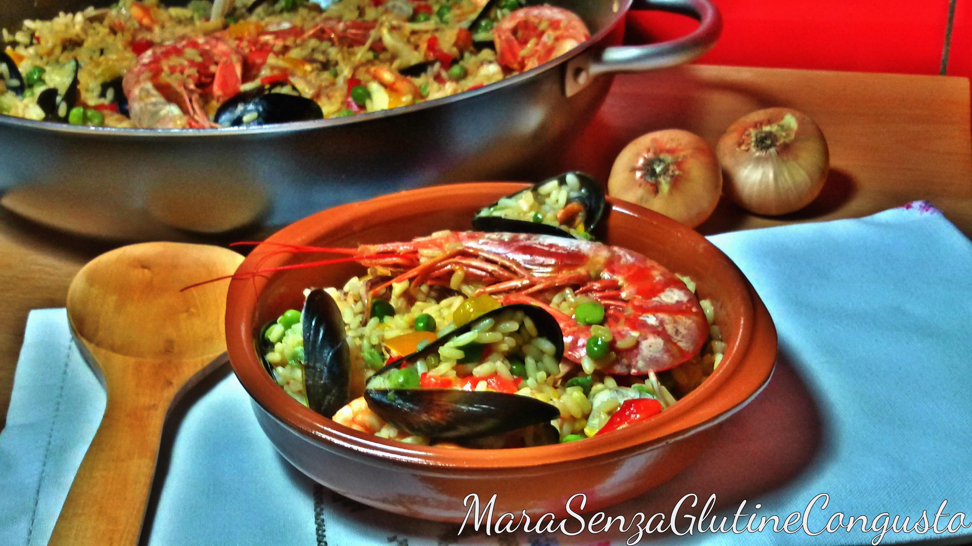 Paella Senza Glutine Di Pesce E Verdure Marasenzaglutinecongusto