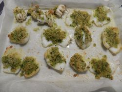 Seppie gratinate for Cucinare seppie