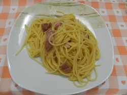 Spaghetti Alla Papalina