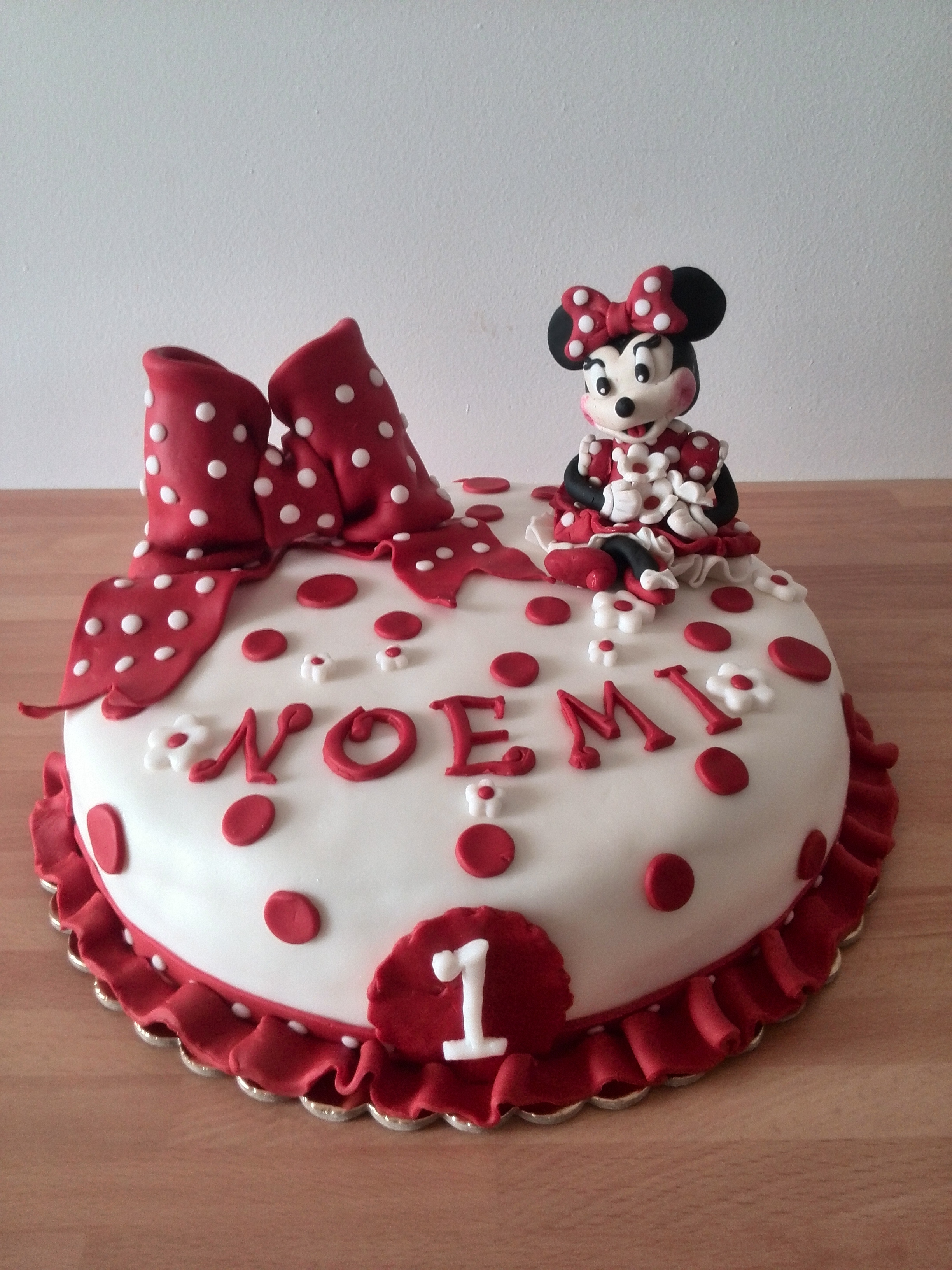 Torta Compleanno Noemi.Torta Minnie