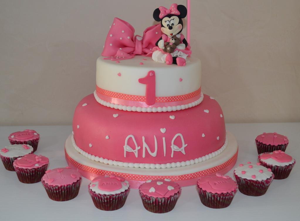 Amato Torta Minnie primo compleanno JF27