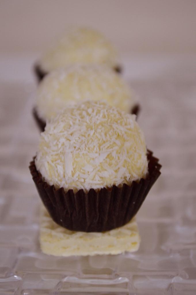 Palline cioccolato bianco e cocco