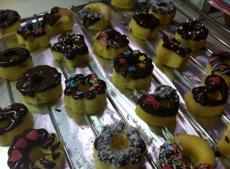Mini donuts al microonde