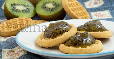 Confettura di kiwi, cannella e whisky in micro