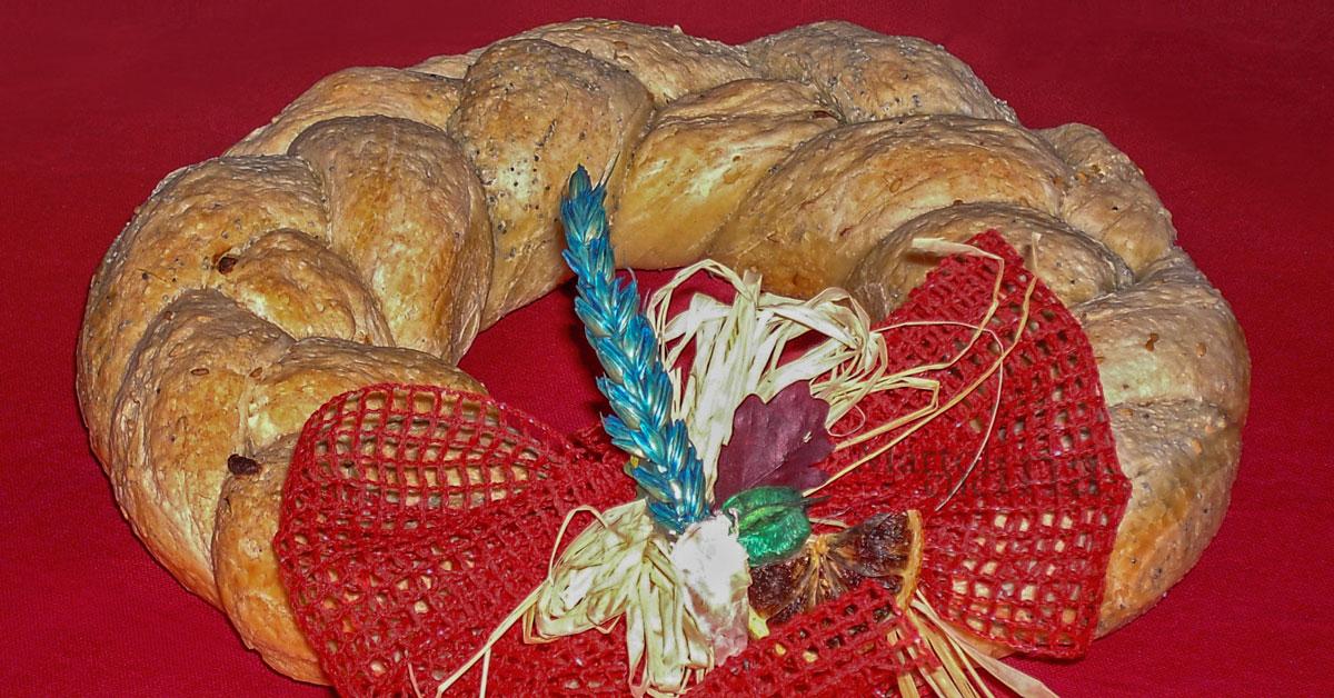Ghirlanda di pane ricetta facile centrotavola - Assicurazione sulla casa si puo detrarre ...